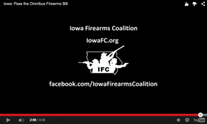 Video: Repealing Iowa's Ban on Supervised Youth Handgun Safety Training