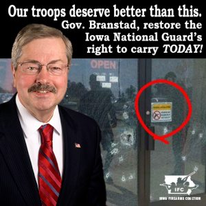 It's time to restore the Iowa National Guard's right to carry.