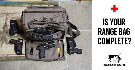A case for for first aid kits at the gun range.