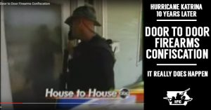 Proof that warrant-less door-to-door gun confiscation does actually occur in America.
