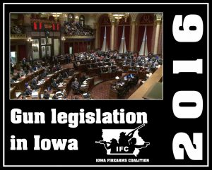 Pro-gun bills in Iowa