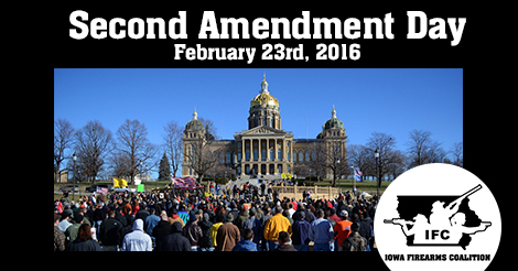 Iowa Firearms Coalition Legislative Day 2016